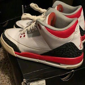 Retro 3 Jordan's